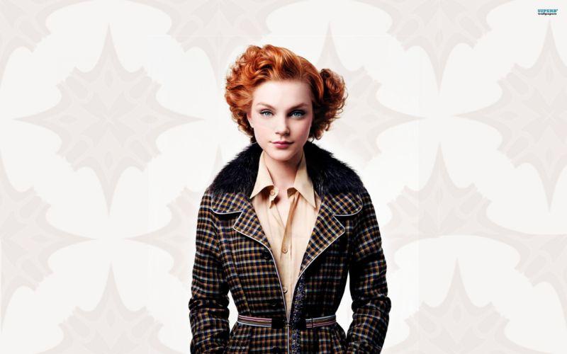 women dress redheads Jessica Stam wallpaper