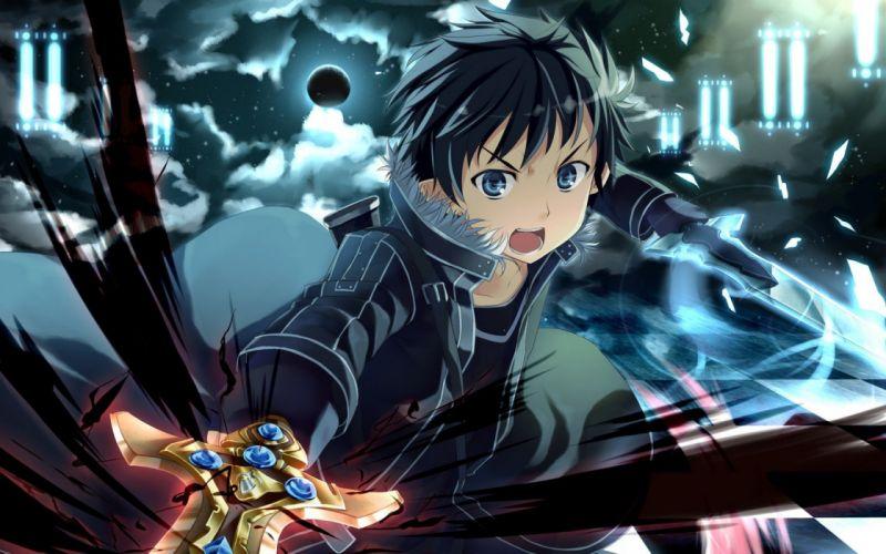 anime Sword Art Online Kirigaya Kazuto wallpaper