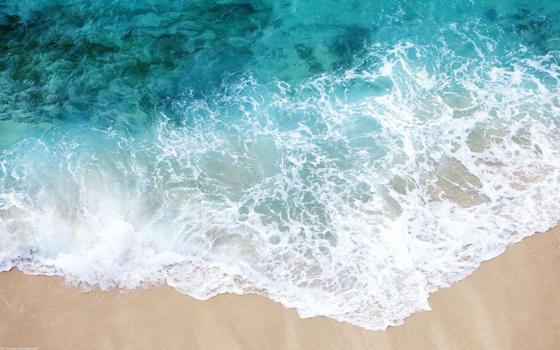 ocean sea beaches wallpaper