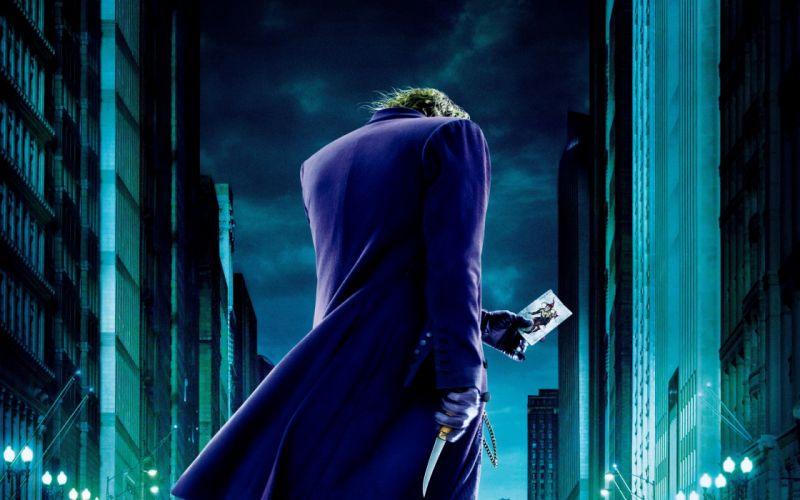 movies The Joker Heath Ledger The Dark Knight wallpaper