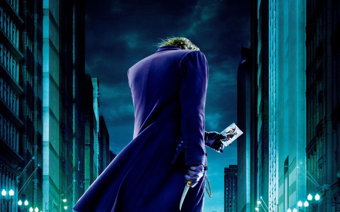 movies The Joker Heath Ledger The Dark Knight wallpaper