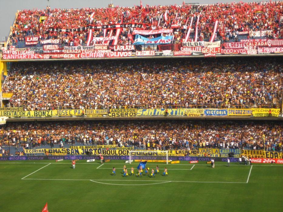Stadium River Plate Rivalry Boca Juniors Wallpaper 1600x1200