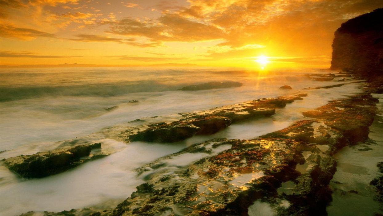 point California Seascape wallpaper