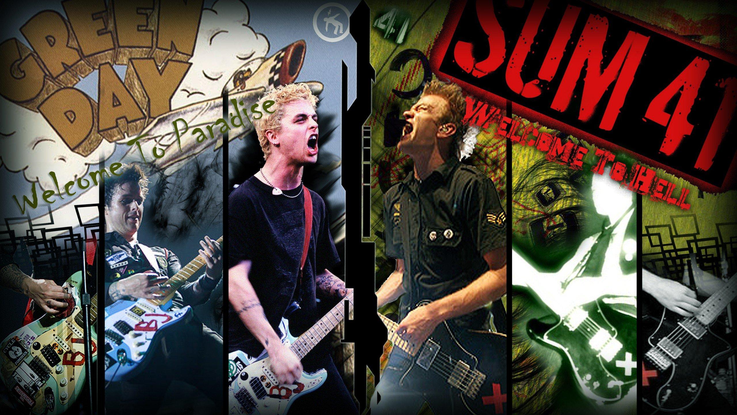 Green Day punk Billie Joe Armstrong Pop Punk sum 41 punk ...