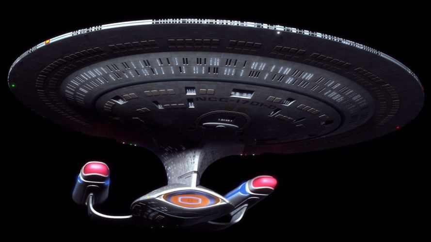 outer space Star Trek USS Enterprise Star Trek The Next Generation wallpaper