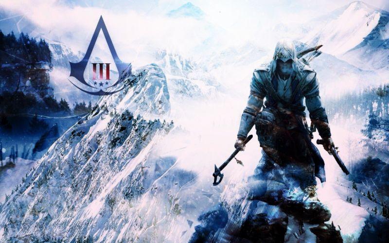 video games Assassins Creed Assassins Creed 3 wallpaper