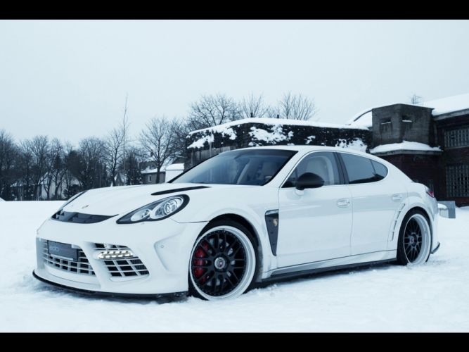 Moby Dick turbo Porsche Panamera Edo Competition wallpaper