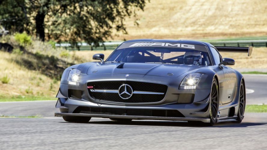 cars gt3 Mercedes SLS wallpaper