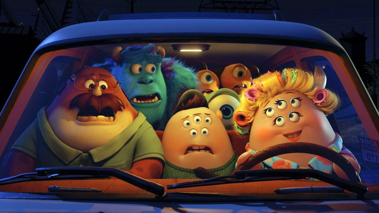 movies cars film animation Monsters University wallpaper