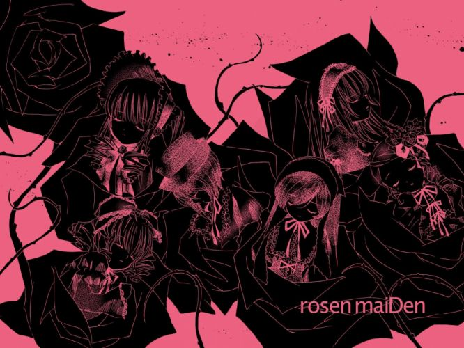 Rozen Maiden Suigintou wallpaper
