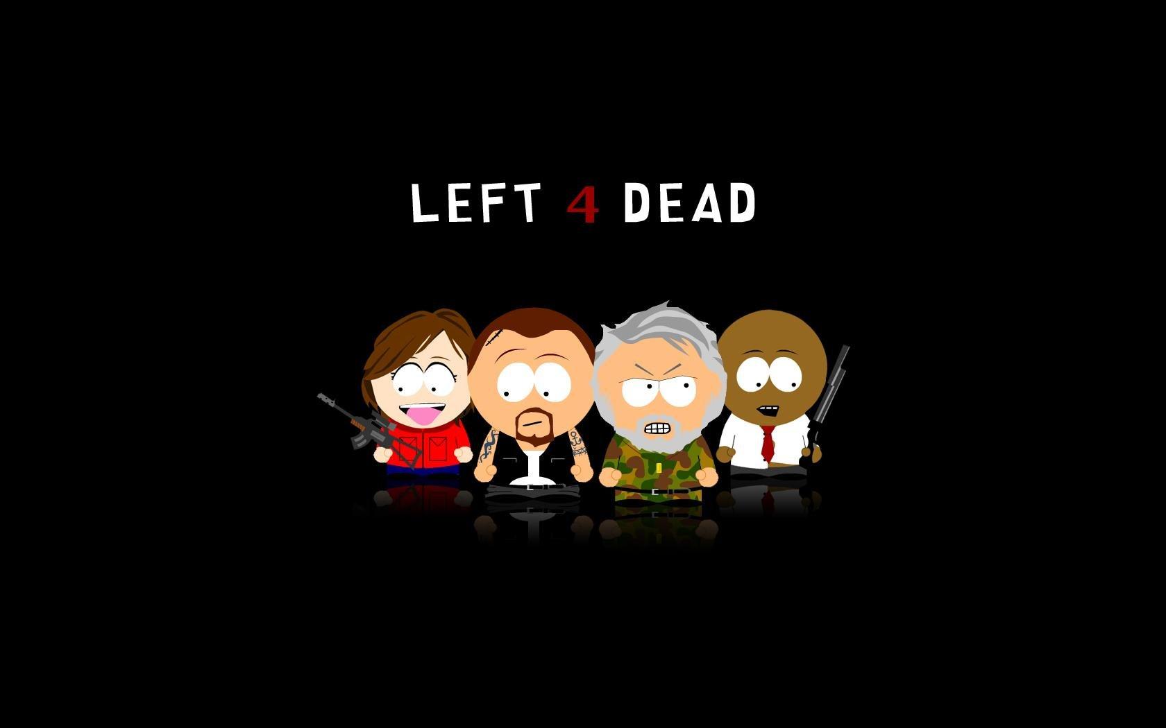 The Walking Dead Logo 2014 Fondo De Pantalla Fondos De: South Park Left 4 Dead Crossovers Wallpaper
