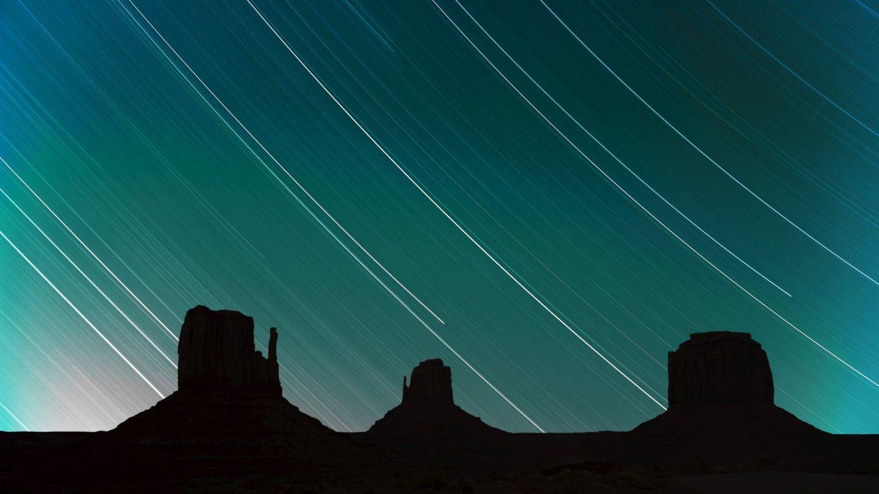 stars Arizona Utah Monument Valley wallpaper