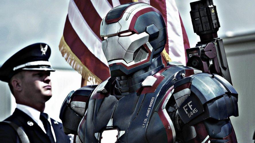 Iron Man Iron Patriot Iron Man 3 wallpaper