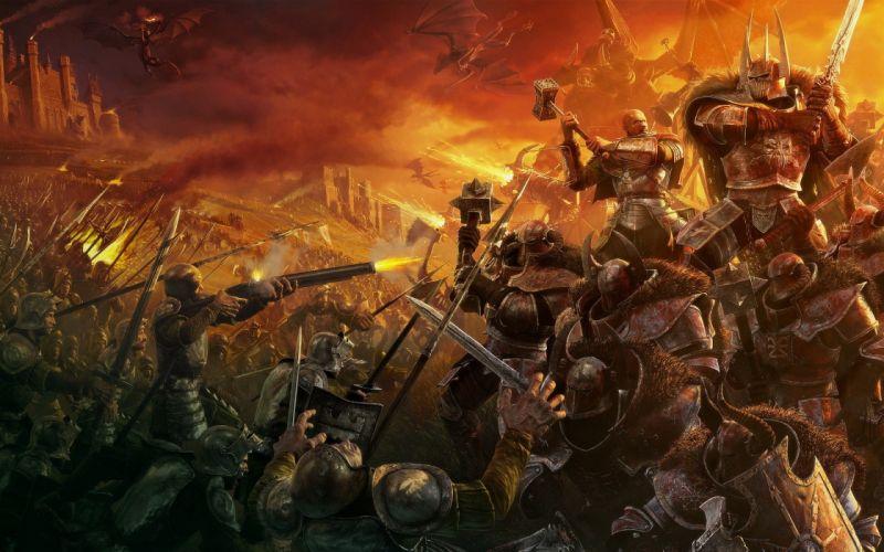 video games Warhammer games wallpaper