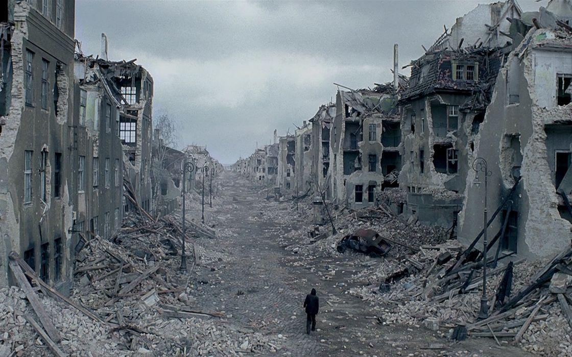 ruins movies architecture destruction Poland The Pianist World War II Warsaw cities wallpaper