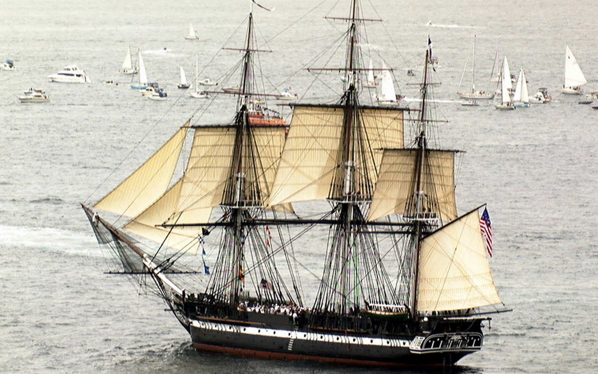 Uss Constitution Wallpaper Ships sail ship sails ...