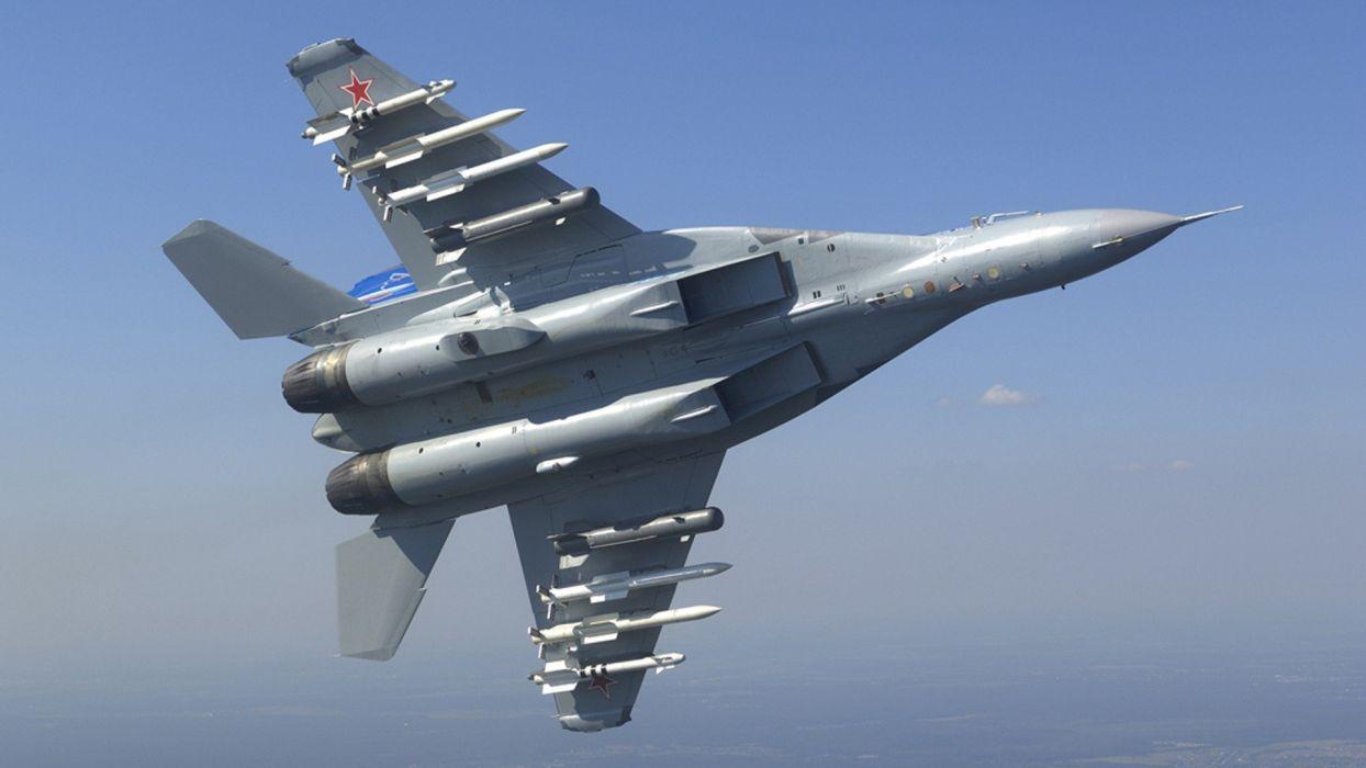Aircraft MIG 35 Fulcrum F Mikoyan Gurevich Russian Air Force Wallpaper