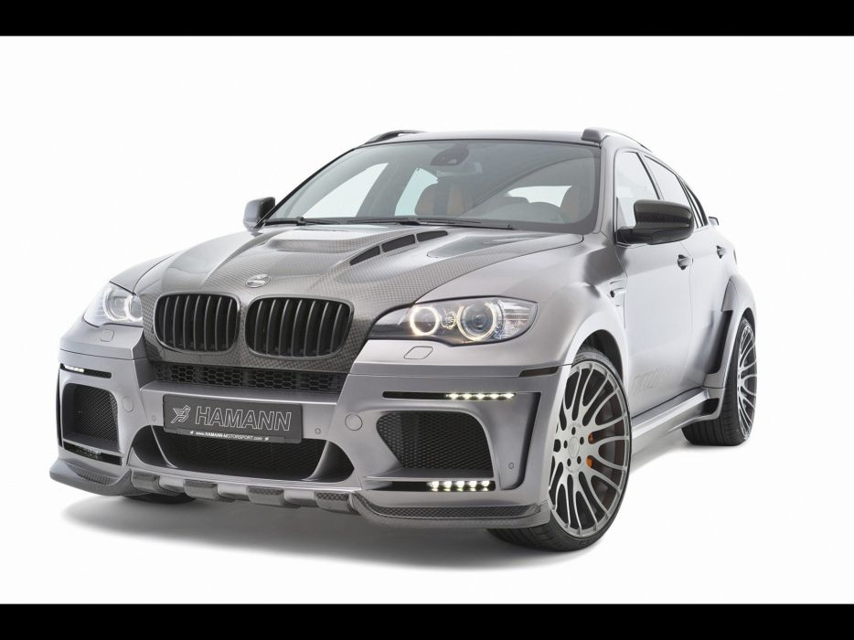 cars vehicles Hamann BMW X6 Hamann Motorsport GmbH Mitsubishi Evo wallpaper