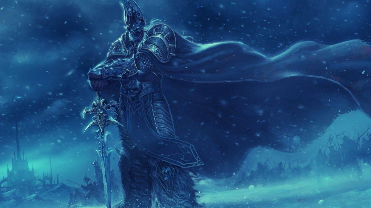 World of Warcraft Lich King wallpaper