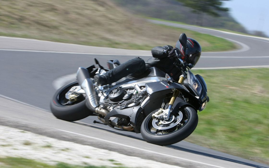 Aprilia motorbikes Tuono V4 wallpaper