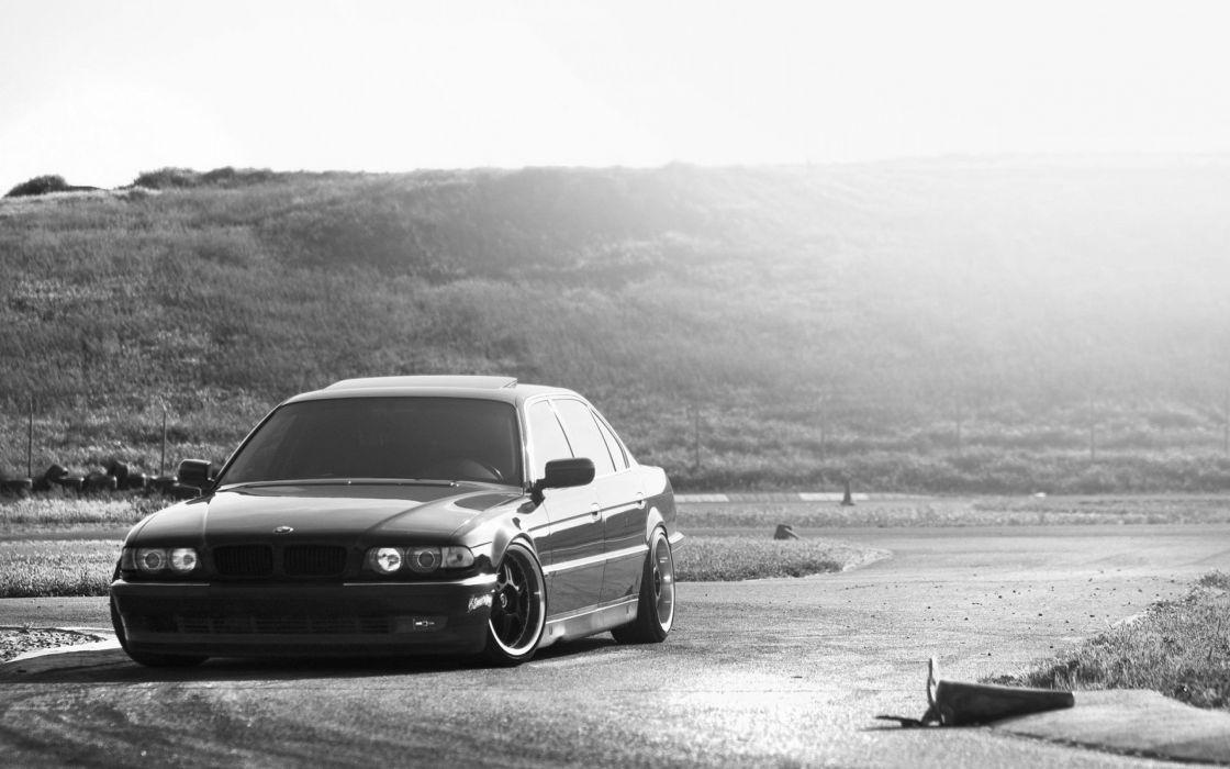 cars tuning BMW 7 Series wallpaper