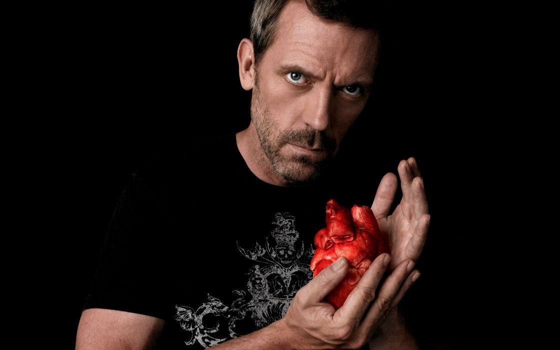 Hugh Laurie hearts Gregory House House M_D_ wallpaper