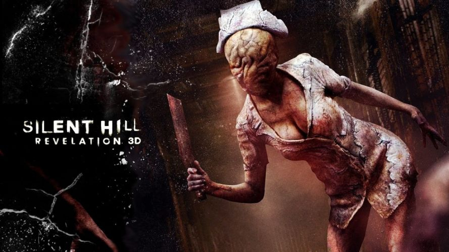 video games monsters Silent Hill weapons wallpaper