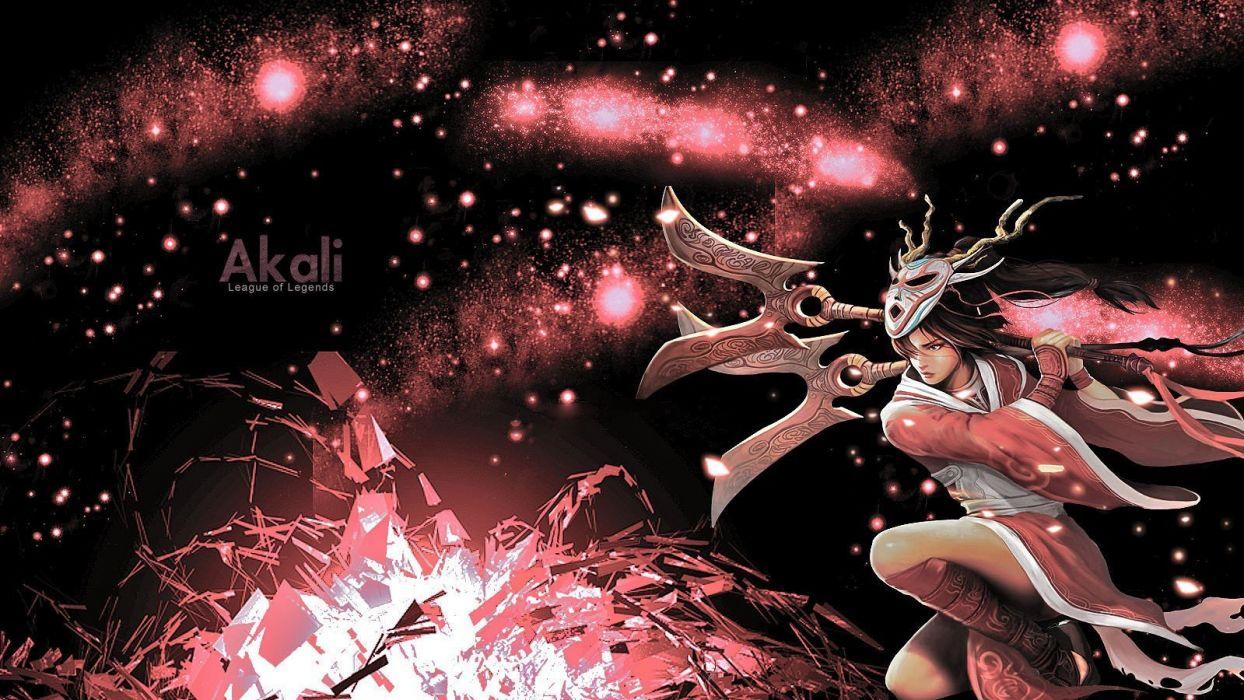 League of Legends Akali wallpaper