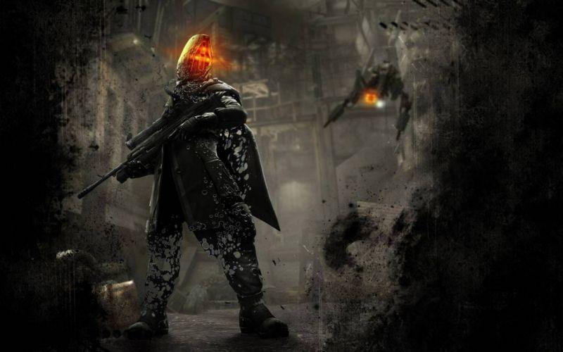 soldier apocalypse killzone 3 wallpaper