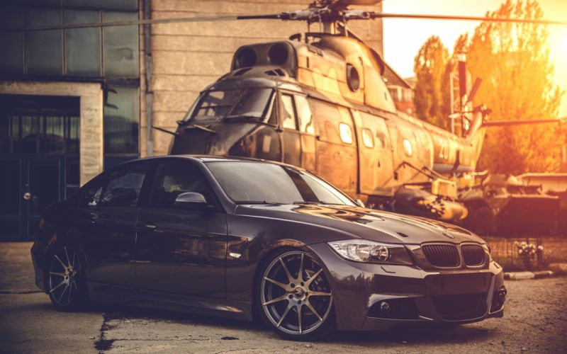deep concave tuning wheels bmw e90 bmw helicopter wallpaper