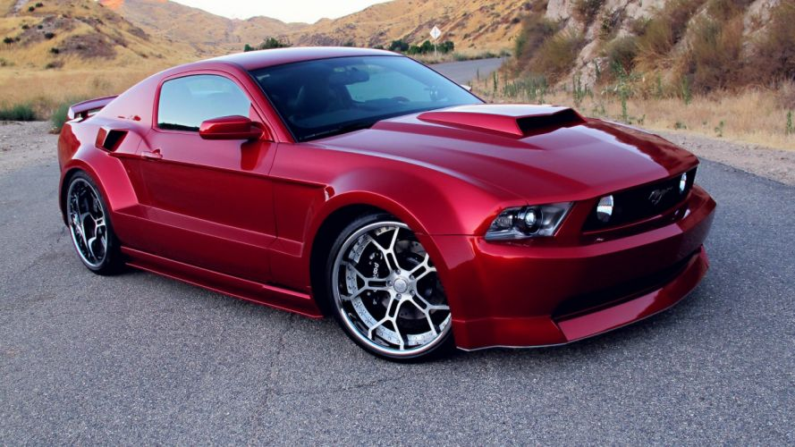 Ford Mustang muscle tuning hot rod rods wallpaper