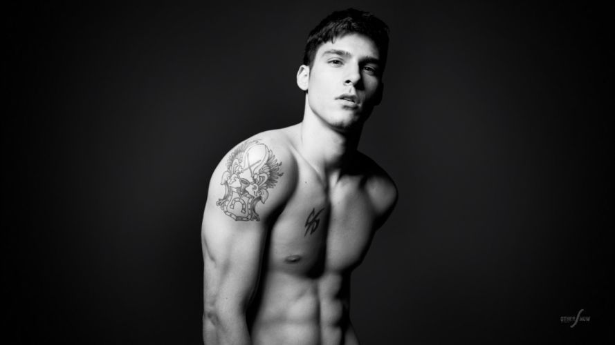 guy man tattoo model wallpaper