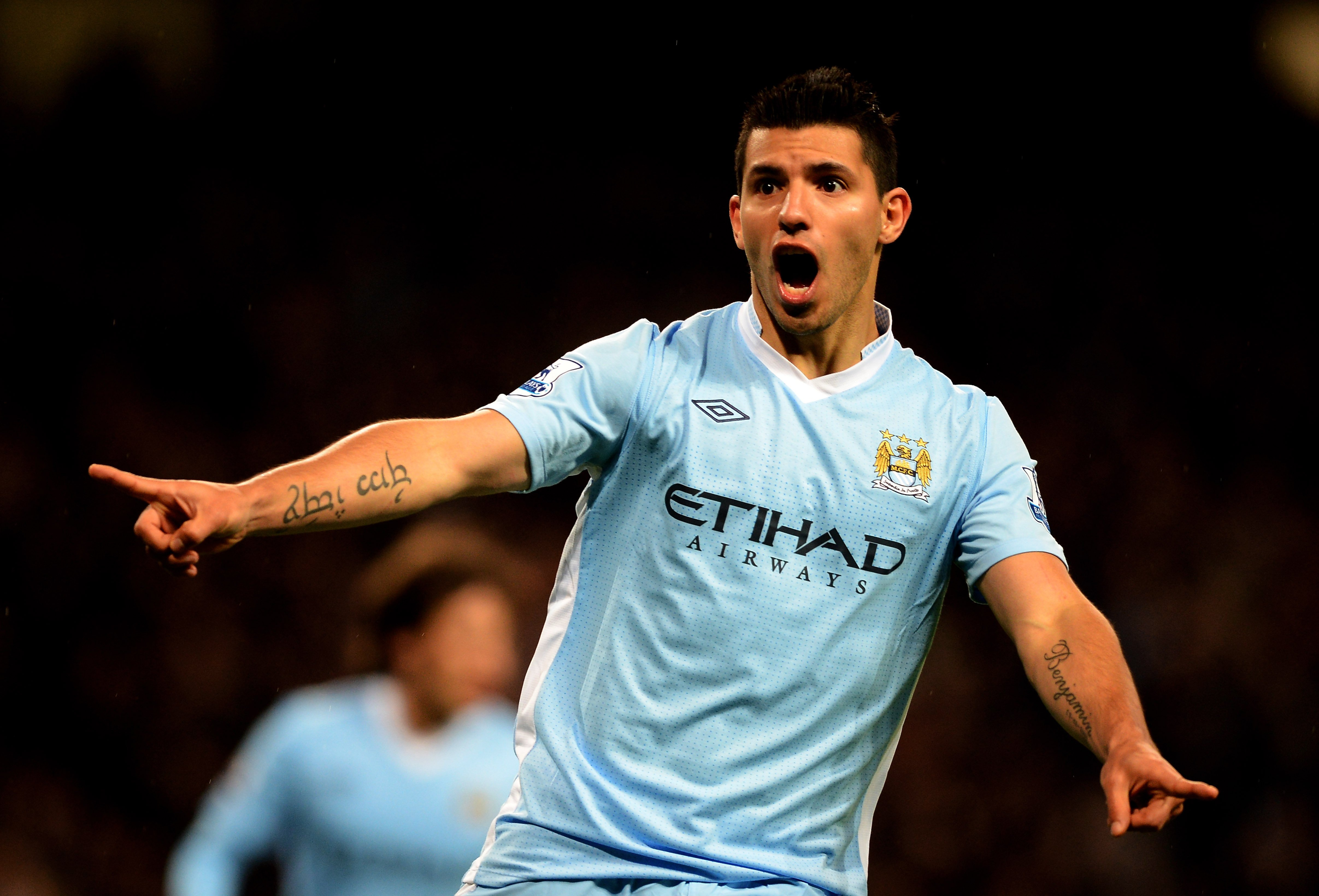 Manchester City FC Sergio Aguero Soccer Wallpaper