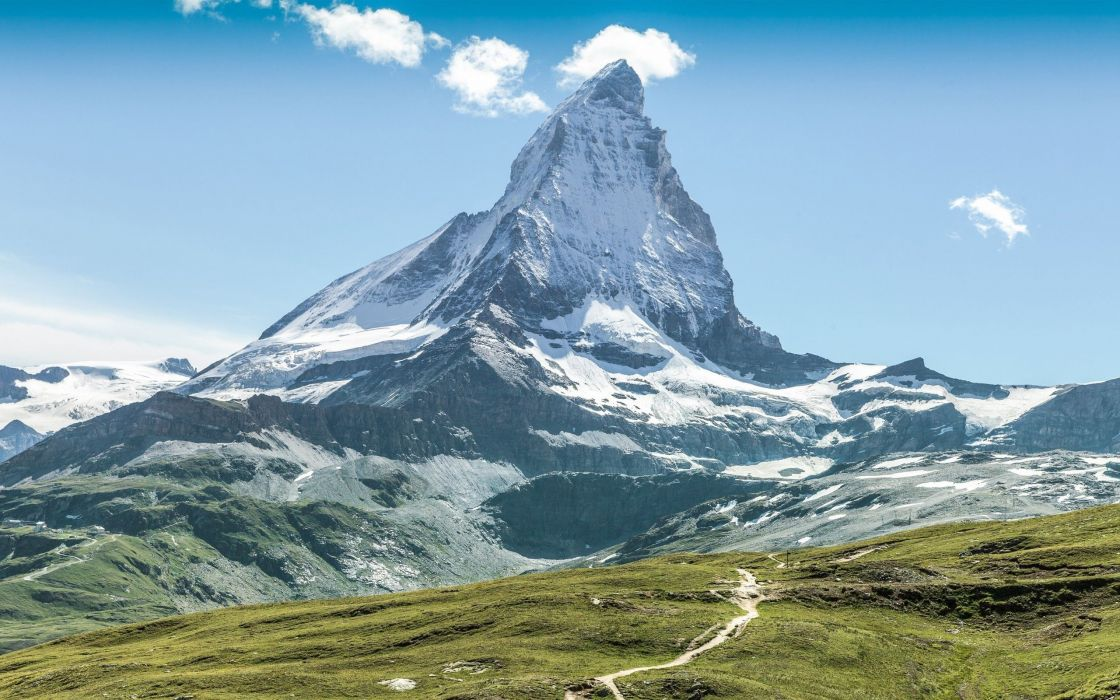 mountain matterhorn alps nature landscape wallpaper