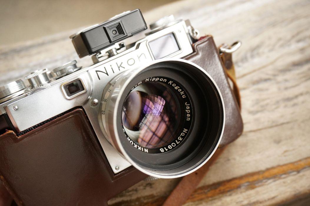 nikon camera camera lens macro reflection wallpaper