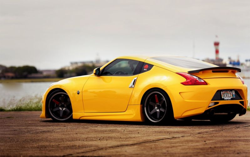 tuning stance 370z nissan wallpaper