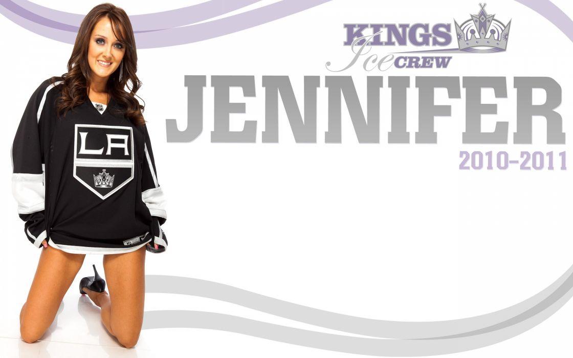 LOS-ANGELES-KINGS nhl hockey los angeles kings cheerleader sexy babe wallpaper