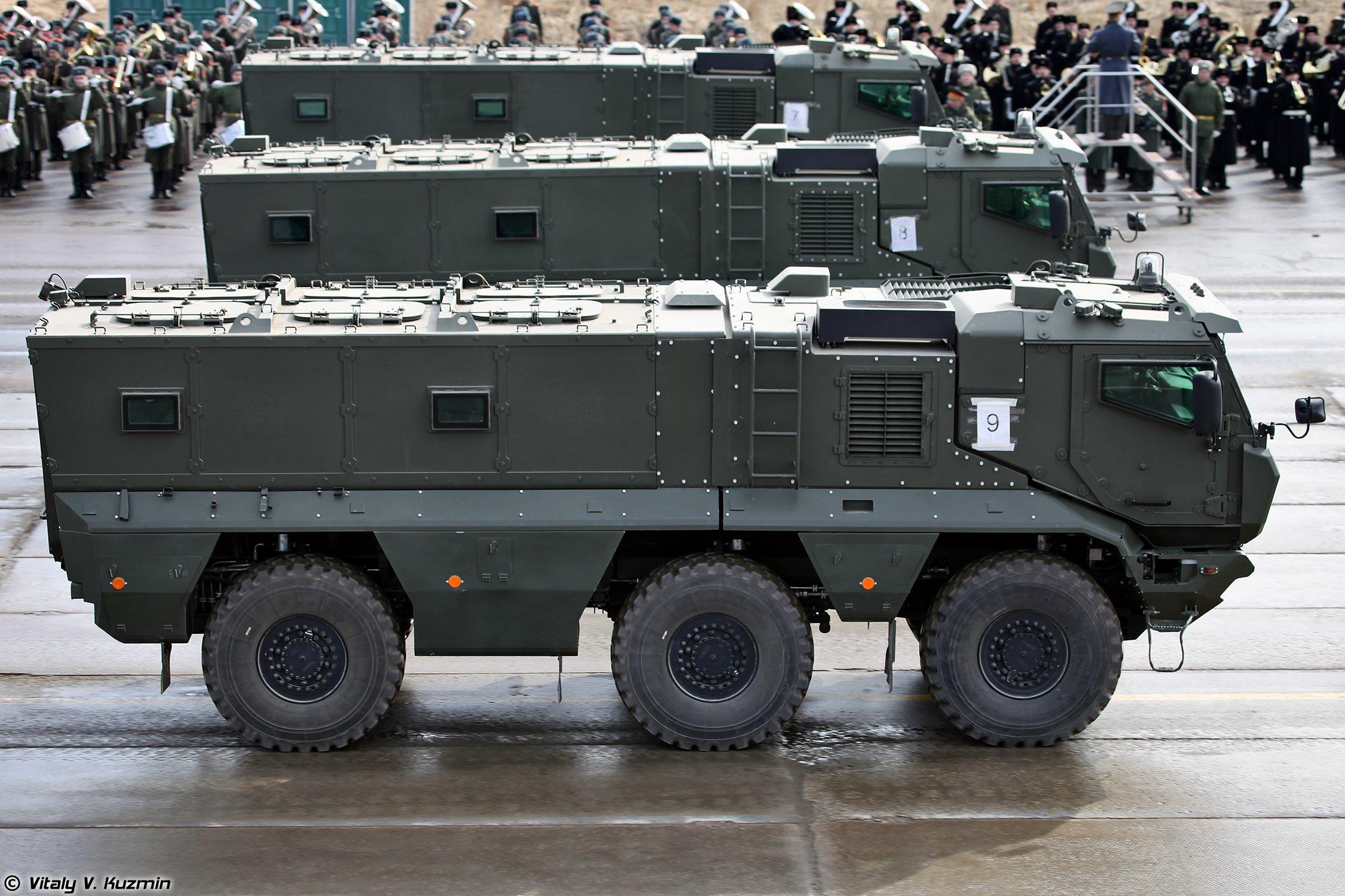 Kamaz 63968 Typhoon K Mrap Vehicle Armored Truck April 9th