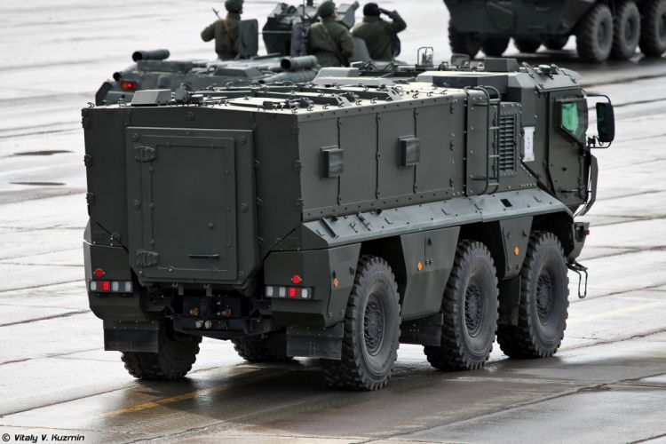 KAMAZ-63968 Typhoon-K MRAP vehicle armored truck April 9th rehearsal in Alabino of 2014 Victory Day Parade Russia military army russian wallpaper