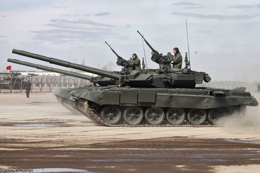T-90A main battle tank April 9th rehearsal in Alabino of 2014 Victory Day Parade Russia military army russian wallpaper