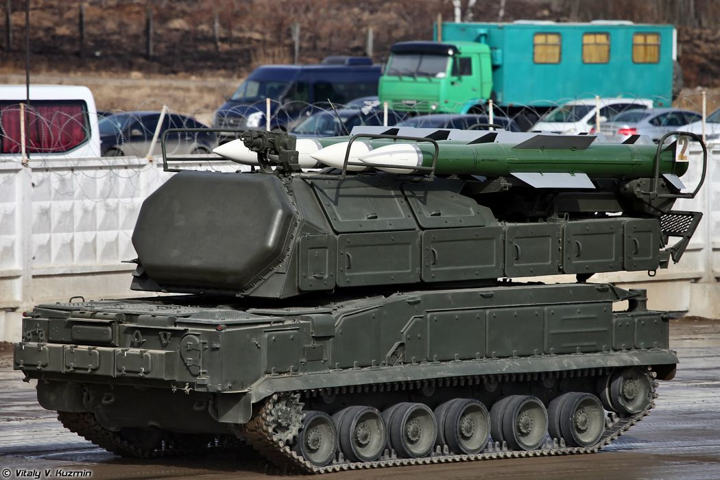 9A317 TELAR for Buk-M2 air defence system missile April 9th rehearsal in Alabino of 2014 Victory Day Parade Russia military army russian wallpaper