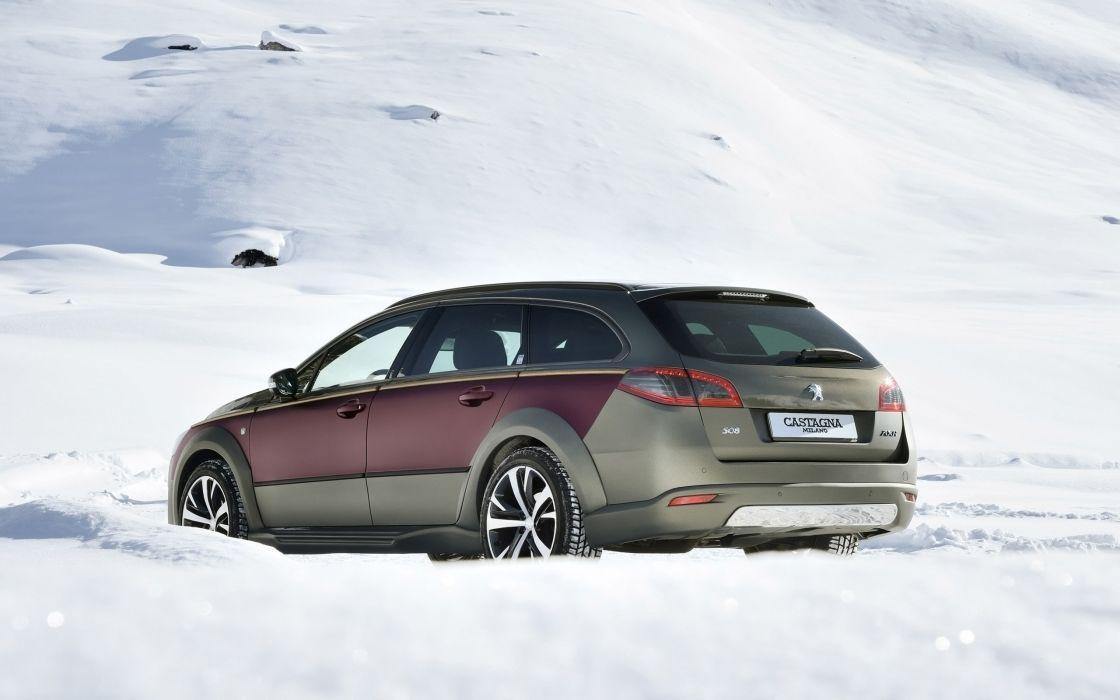 2014 tunnig -Castagna -Peugeot -508 -RXH -Static -8 -2560x1600 wallpaper