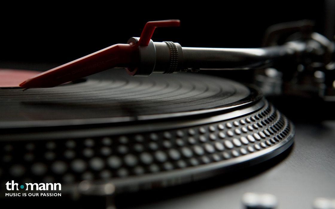 vinyl record player wallpaper