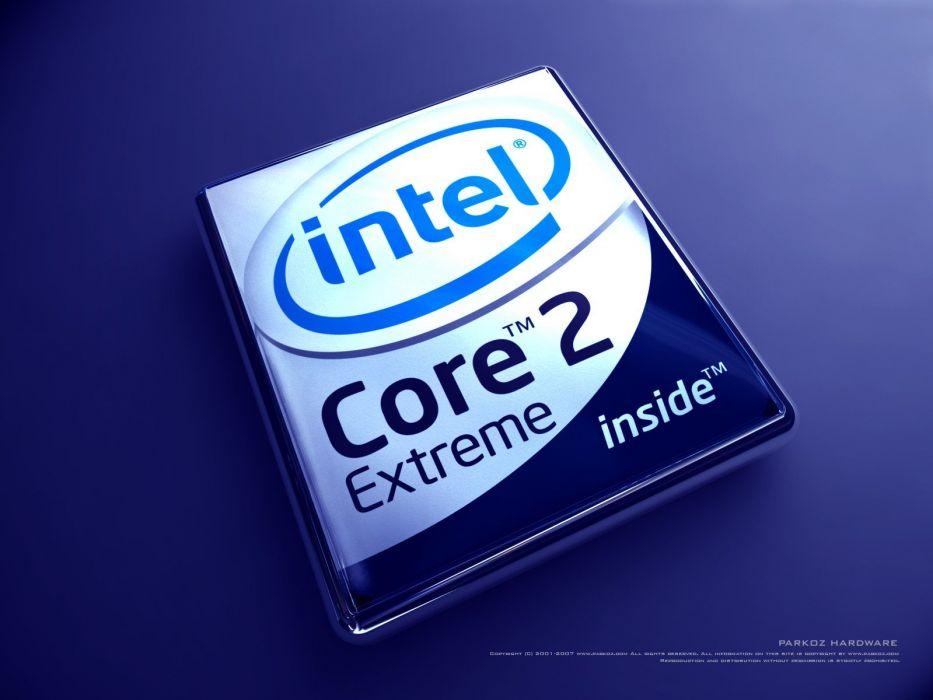 Intel brands logos companies Core 2 duo wallpaper