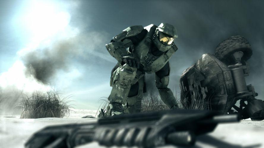 video games Halo Master Chief wallpaper