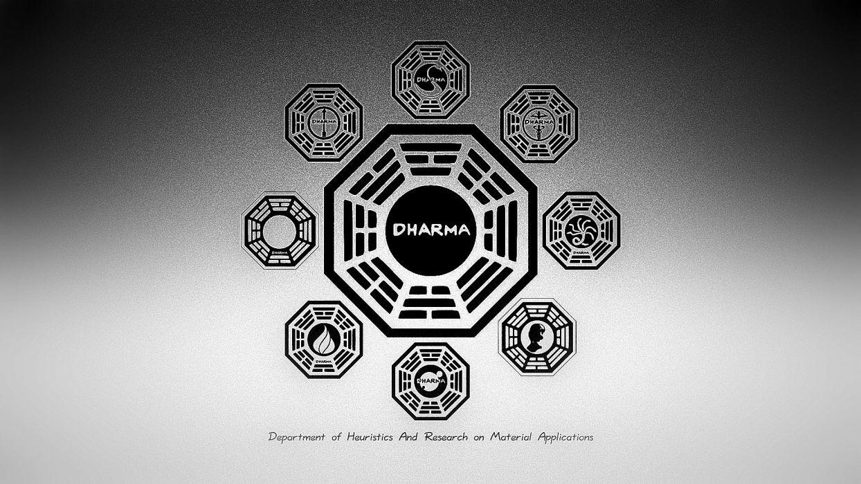 Lost (TV Series) Dharma wallpaper