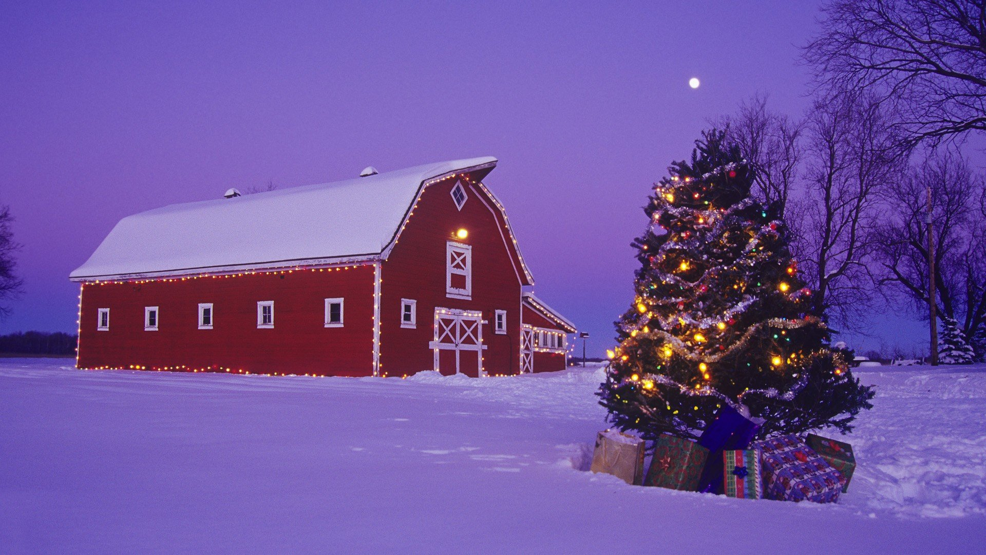 red winter barn ? Eagle Hardware Farm &amp- Ranch