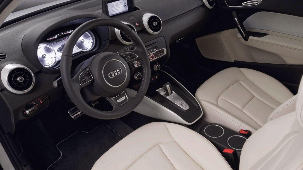 cars Audi car interiors wallpaper