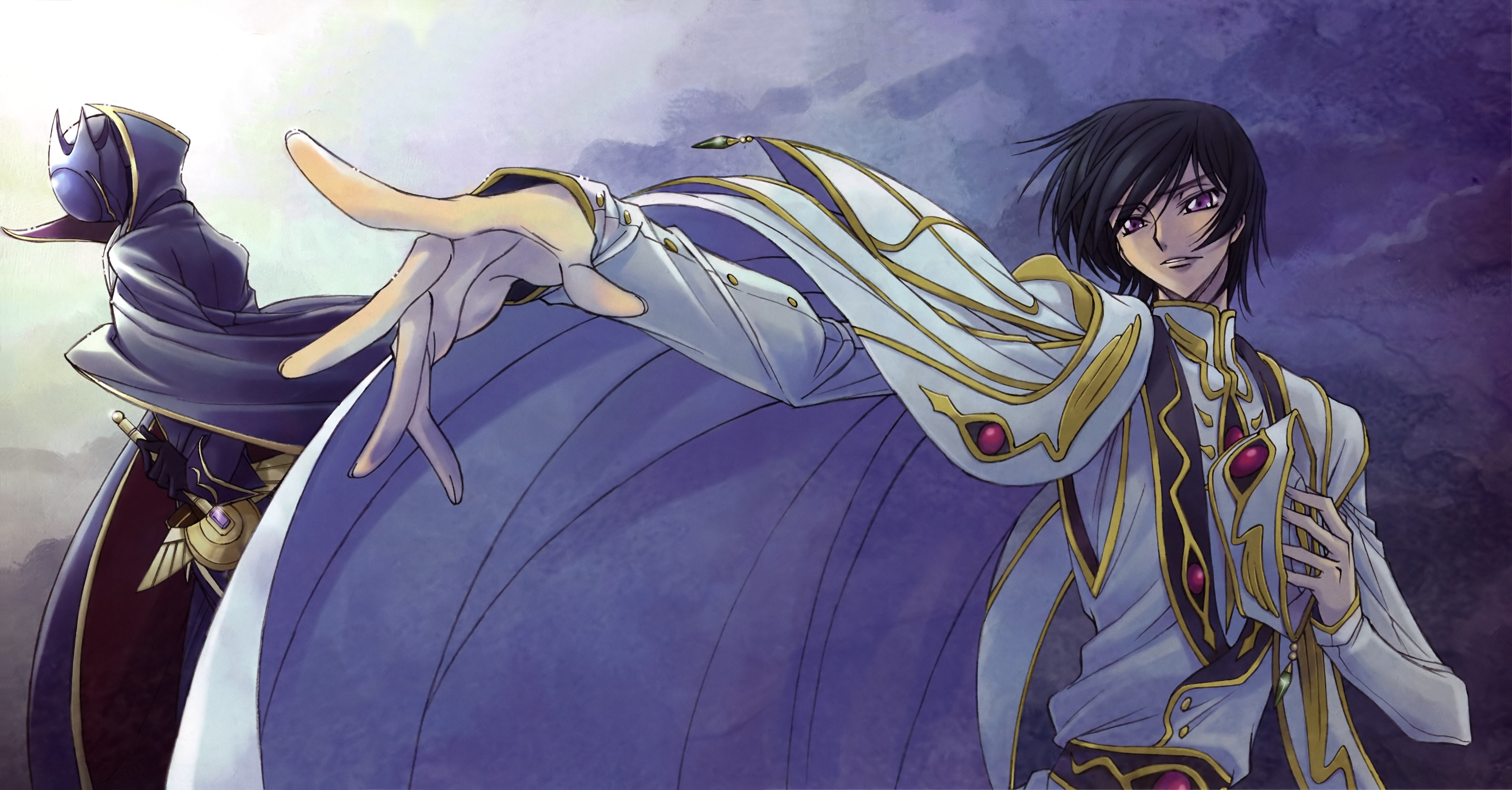 Code Geass Lamperouge Lelouch Wallpaper 5769x3013 337240