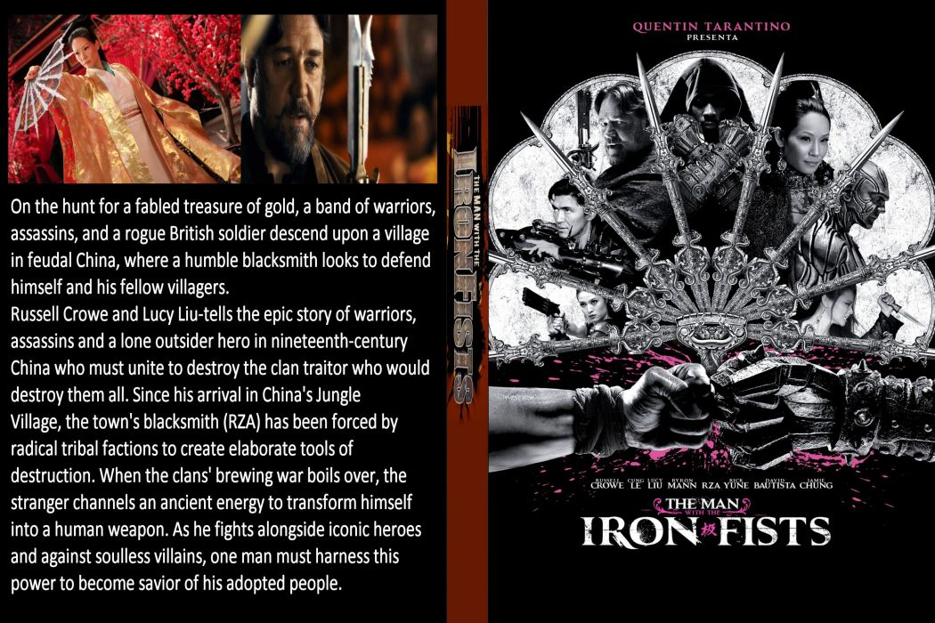 The Man with the Iron Fists action martial arts asian poster   f wallpaper